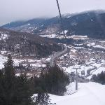the view from funicular