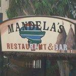 Sign at Mandela's