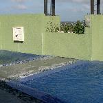 whirlpool? beside the swimming pool