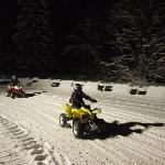 Quad Biking at night - what a laugh