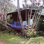 typical plantation village cabin exterior