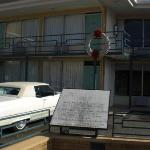 Room 306 Lorraine Motel, Memphis - the scene of Martin Luther King's assassination.