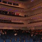 "KKL Luzern. Prior to the interview with Howard Shore on ""The Lord of the Rings - The Return of t"