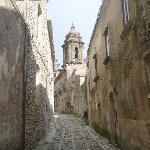 cobblestonned streets of Erice