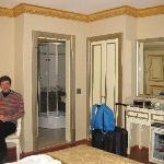 Room from street facing window in room 304