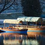 vista sul lago: le pletna