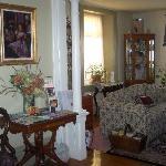 Private guest area