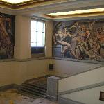 murales de la recepcion monumentales