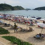 Nai Harn beach 10 mins away