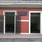 Entrance to Hotel Casa La Luna