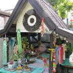 Spirit House at back of property