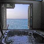 Hot tub view...