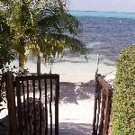 View of the beach from Casa Bonita
