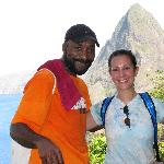 Russel of Serenity Tours Hiking Gros Piton