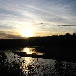 Sunset on the Hudson