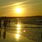 Urlaub auf Usedom, Am Strand, August 2009