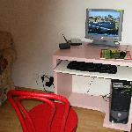 Computer in the common room