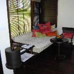 Seating  area in Villa