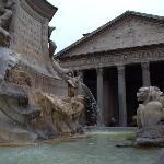 Pantheon, just aound the corner