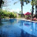 petite piscine du Tugu Bali