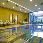 Indoor heated spa pool