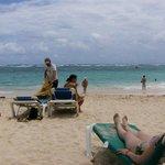 Praia junto ao Hotel Riu Taina - Punta Cana