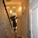 Hallway from breakfast room