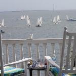 A great view of a regatta
