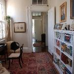 The entrance hall/study
