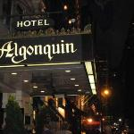 After the play we went to the Algonquin to drink where the greats used to drink
