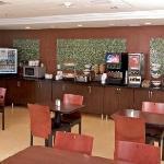 Hot Continental Breakfast Area