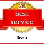 Divan has been recognized as a Best Service Hotel by Venere.com travelers from all over the worl