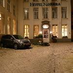 Main Entrance At Night