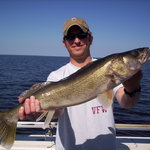 Trophy Walleyes year round