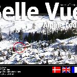 Bellevue Alpine Lodge webpage winter page