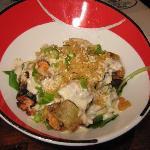 Spicy Tuna Tempua Salad