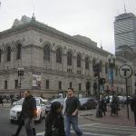 Boston Public Library and Copley Square