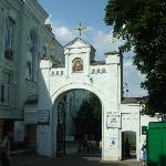 Main Entrance to the Lower Lavra.