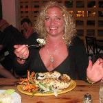 Huge lobster dinner at Alebrijes!