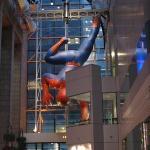 NYC Trip, December 2009 Sony Wonder Lab, Spiderman Balloon