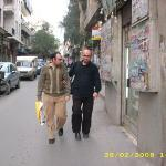 Halepli dostum, üniversiteden arkadaşım Baraa