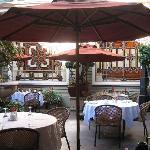 Grano de Oro courtyard restaurant