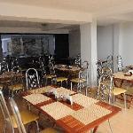 Breakfast seating area