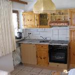 Wohnküche unseres Apartment