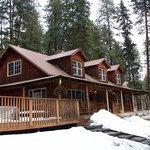 Wraparound porch and wide deck