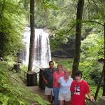Nantahalla State Park Bridal Veil Falls, NC.