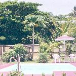 another view of the large private swimming pool