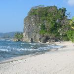 Además desde el hotel podés ir a otras playas, como es una playita solitaria y encantadora, cono
