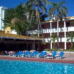 Pool & El Patio Restaurant at El Cid Granada