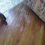 Floor in urgent need of varnish